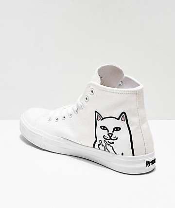 RIPNDIP Lord Nermal zapatos blancos de corte alto