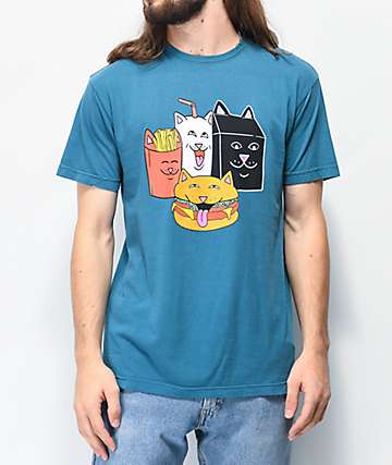 RIPNDIP McNerm Dark Blue T-Shirt
