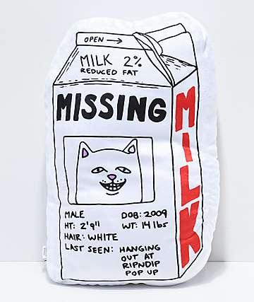 RIPNDIP Milk Carton Pillow