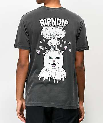 RIPNDIP Mind Blown Grey T-Shirt