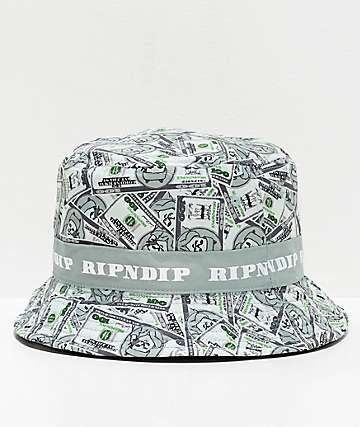 RIPNDIP Money Bag Reversible Bucket Hat