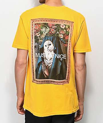 RIPNDIP Mother Gold Pocket T-Shirt