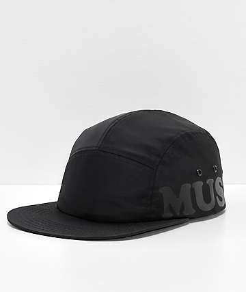 RIPNDIP Must Be Nice Black Nylon Strapback Hat