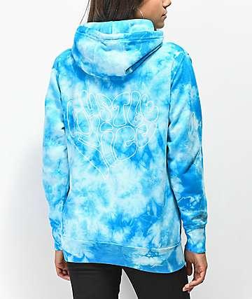 RIPNDIP Must Be Nice Blue Tie Dye Hoodie