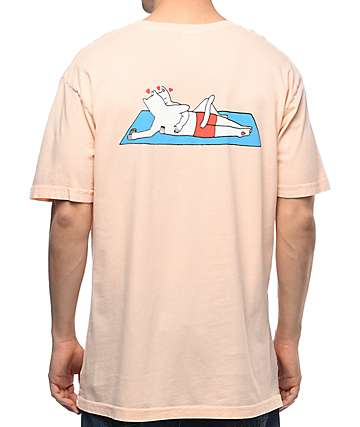 RIPNDIP Must Be Nice Salmon T-Shirt