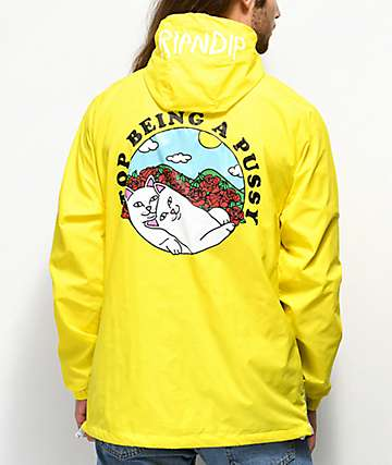 RIPNDIP Must Be Nice Yellow Anorak Jacket