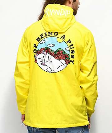 RIPNDIP Must Be Nice chaqueta anorak amarilla