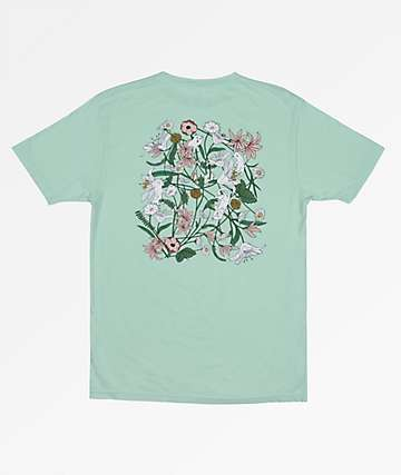RIPNDIP Nerm Flower Sage Green T-Shirt