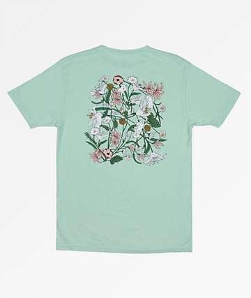 RIPNDIP Nerm Flower Sage Green T-Shirt