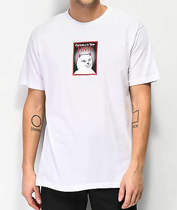 RIPNDIP Nerm Of The Year White T-Shirt