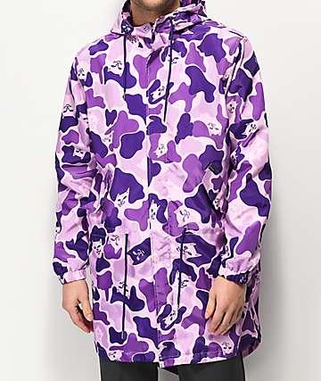 RIPNDIP Nerm Purple Camo Parka Jacket
