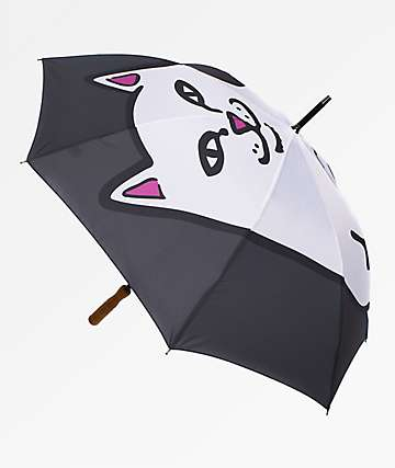 RIPNDIP Nermal Black Umbrella