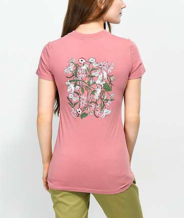 RIPNDIP Nermal Flowers camiseta rosa