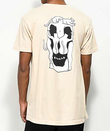 RIPNDIP Nermal Skull Melon T-Shirt