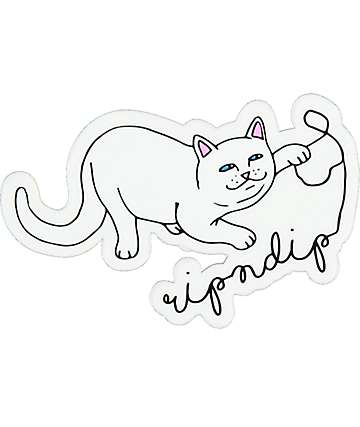 RIPNDIP Nermal String Sticker