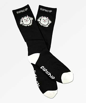 RIPNDIP Nermamaniac calcetines negros