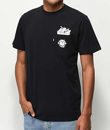 RIPNDIP Nermaniac Black T-Shirt