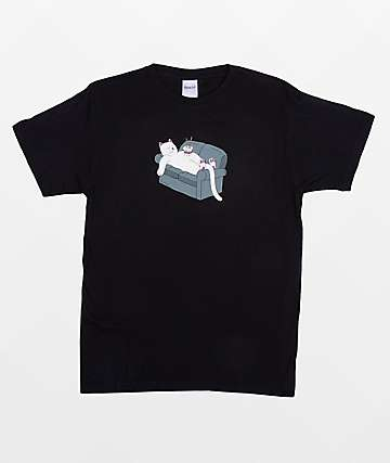 RIPNDIP Noodles Black T-Shirt