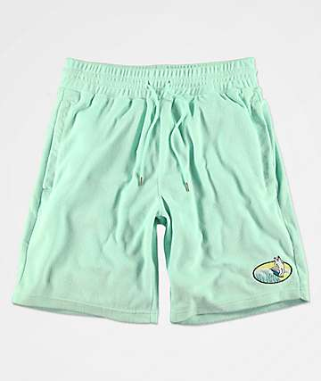 RIPNDIP Paradise Mint Sweat Shorts