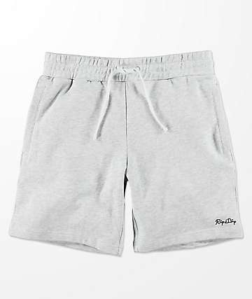 RIPNDIP Peek A Nermal Heather Grey Sweat Shorts