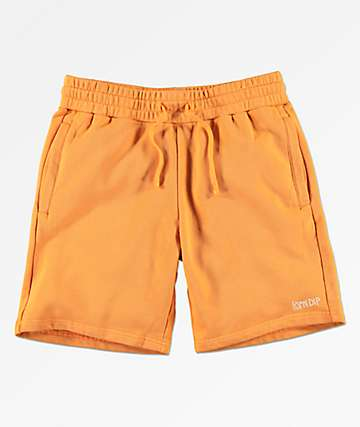 RIPNDIP Peek A Nermal shorts de punto anaranjados