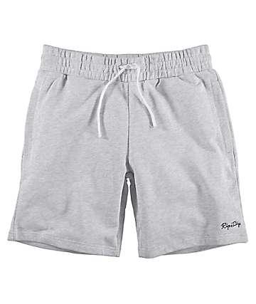 RIPNDIP Peek A Nermal shorts de punto en gris