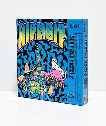 RIPNDIP Psychedelic 500-Piece Puzzle
