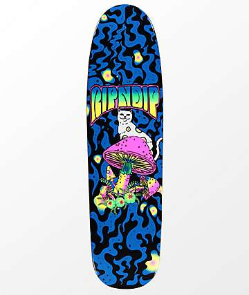 "RIPNDIP Psychedelic 8.25"" Cruiser Skateboard Deck"