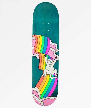"RIPNDIP Rainbow 8.0"" Skateboard Deck"