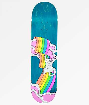 "RIPNDIP Rainbow Nermal 8.0"" Skateboard Deck"
