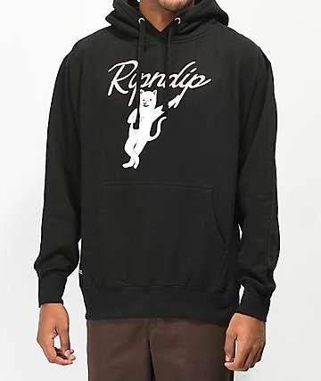 RIPNDIP Relax Black Hoodie
