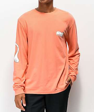 RIPNDIP Ripn Tail Coral Long Sleeve T-Shirt