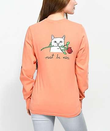 RIPNDIP Romantic Nerm Dahlia camiseta de manga larga