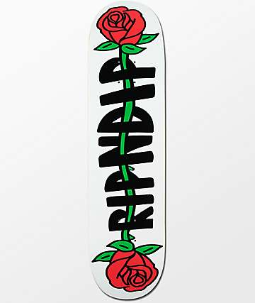 "RIPNDIP Rose 8.0"" tabla de skate"