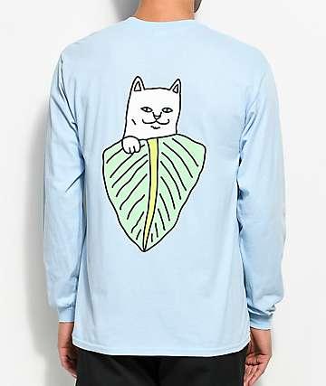 RIPNDIP Safari Nermal Light Blue Long Sleeve T-Shirt