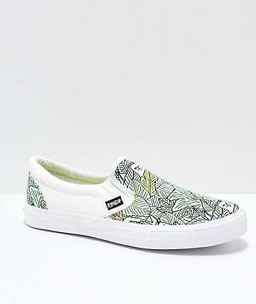 RIPNDIP Slip-On Nermal zapatos con estampado de hojas