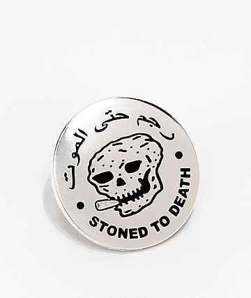 RIPNDIP Stoned To Death Pin