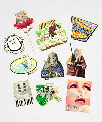 RIPNDIP Summer Sticker Pack