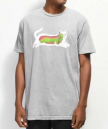 RIPNDIP Transnerm Grey Wash T-Shirt