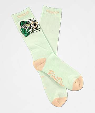 RIPNDIP Tropicalia Blue Crew Socks