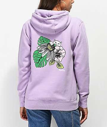 RIPNDIP Tropicalia Lavender Hoodie