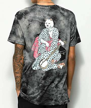 RIPNDIP Warrior Black Tie Dye T-Shirt