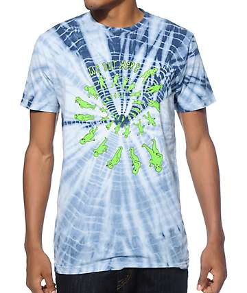 RIPNDIP We Out Here Party Tie Dye T-Shirt