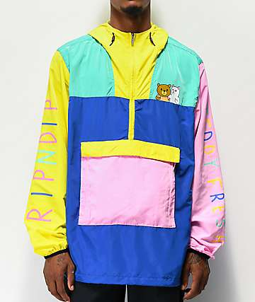 RIPNDIP x Teddy Fresh 2.0 Colorblock Anorak Jacket