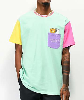 RIPNDIP x Teddy Fresh 2.0 Colorblock T-Shirt
