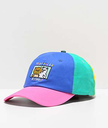RIPNDIP x Teddy Fresh Colorblock Strapback Hat