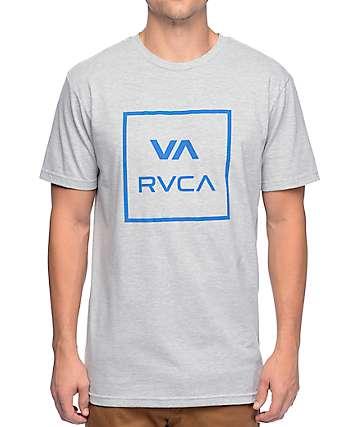 RVCA All The Way Grey T-Shirt