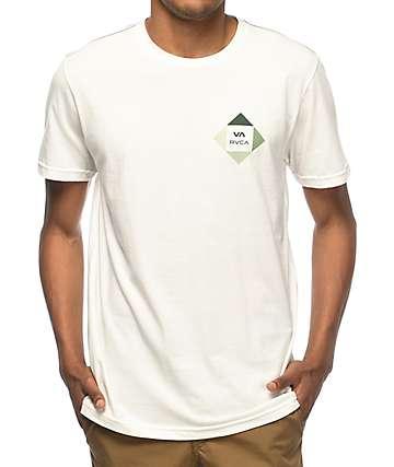 RVCA All The Way camiseta en blanco y verde