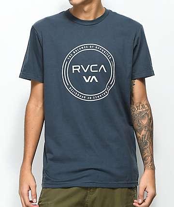 RVCA Balance Hoop Midnight camiseta