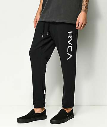 RVCA Big Black Sweatpants
